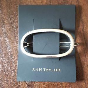 Ann Taylor Silver Hair Clip